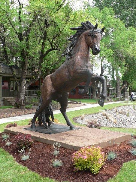 Lorenzo Ghigleiri Bronze Horse Sculpture