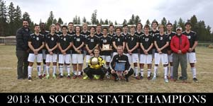 Sisters High School Men's Soccer Team